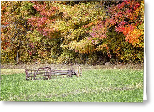 Scenic Amish Landscape 7 Greeting Card