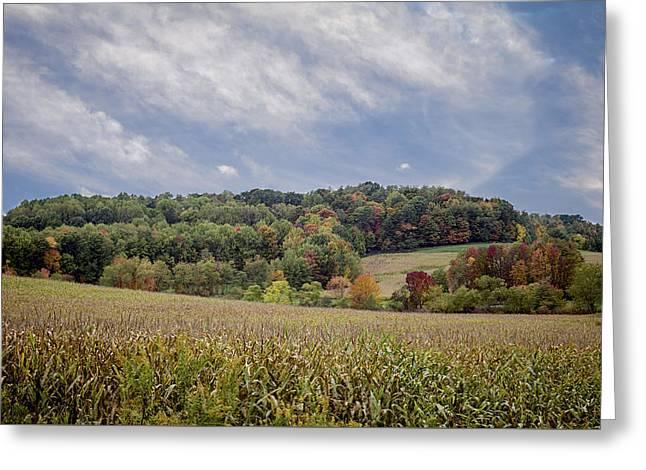 Scenic Amish Landscape 6 Greeting Card
