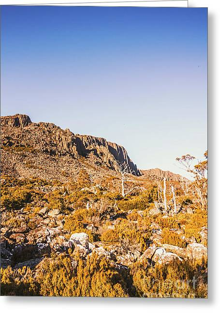 Scenic Barren Range Greeting Card