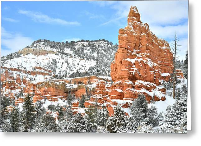 Scenic Byway 12 - Red Canyon Greeting Card