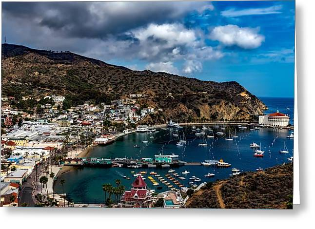Scenic Catalina Island Greeting Card by Mountain Dreams