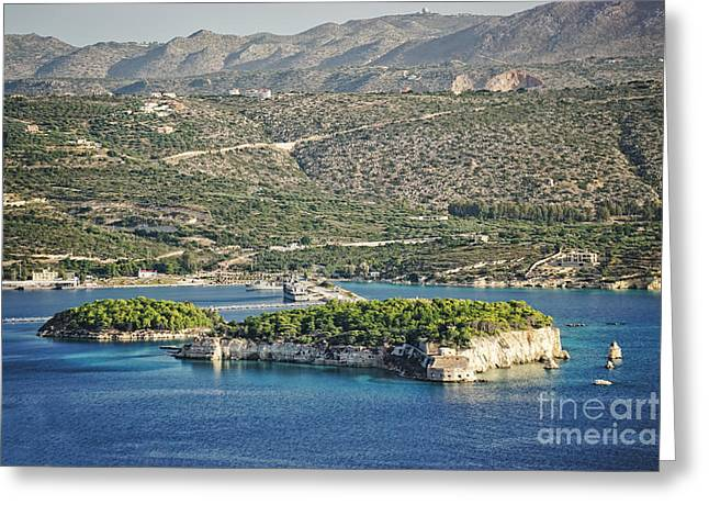 Scenic Crete Greeting Card