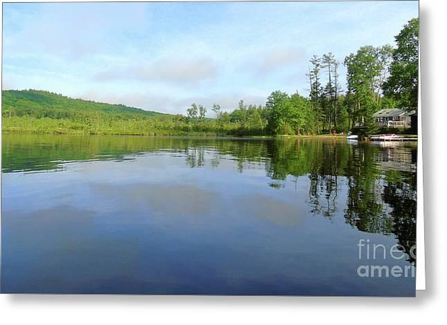 Scenic Gorham Pond #1 Greeting Card