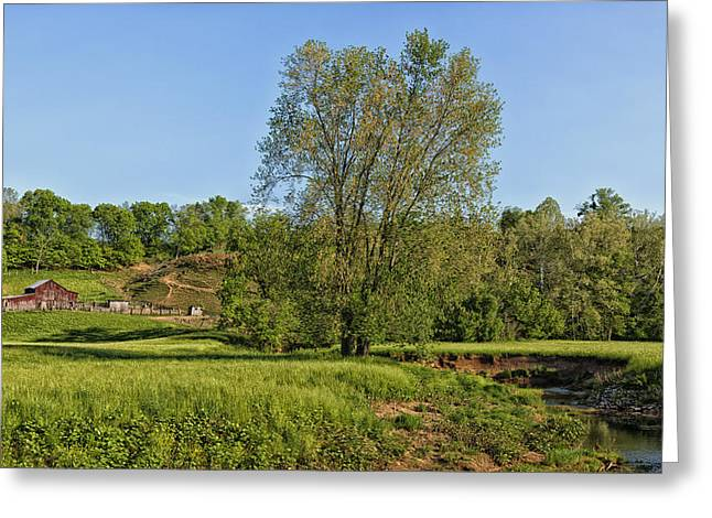Scenic Jackson County West Virginia Greeting Card by Mountain Dreams