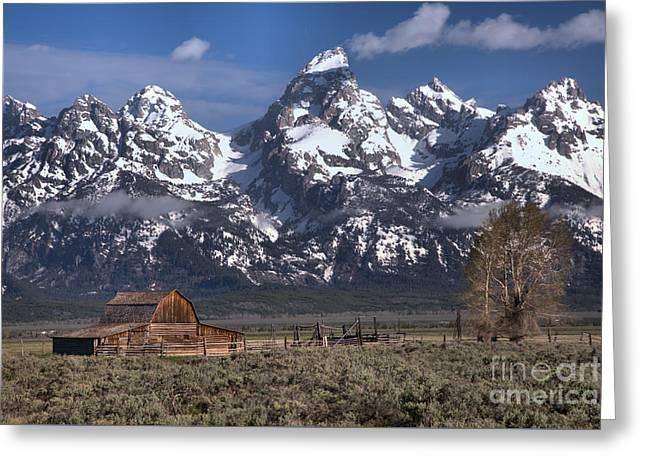 Scenic Mormon Homestead Greeting Card by Adam Jewell