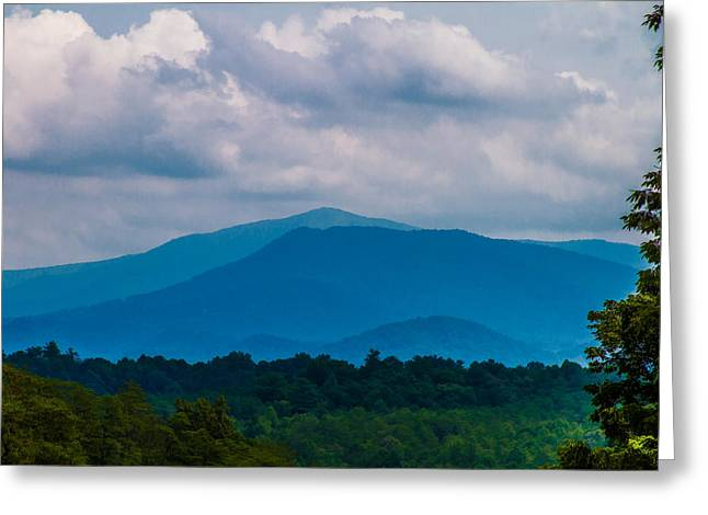 Scenic Overlook - Smoky Mountains Greeting Card by Barry Jones