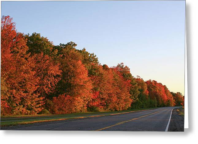 Scenic Route Greeting Card