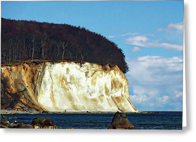 Scenic Rugen Island Greeting Card by Anthony Dezenzio