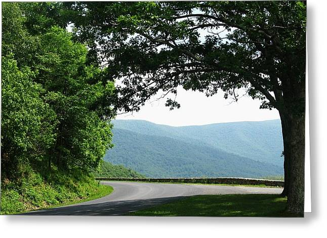 Scenic View Greeting Card by Joyce Kimble Smith