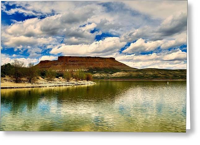 Scenic Wyoming Greeting Card