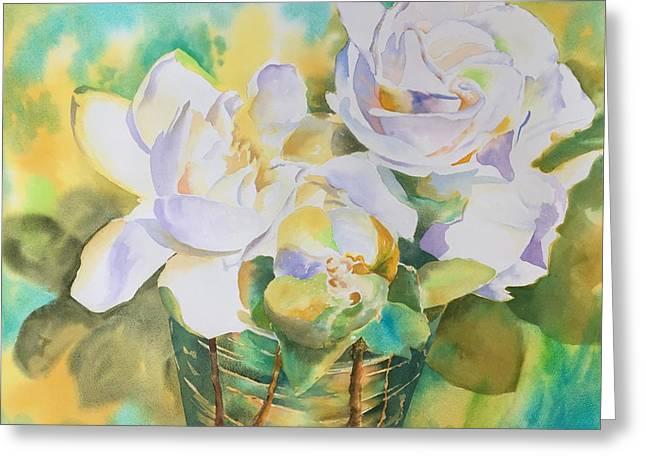 Scent Of Gardenias  Greeting Card