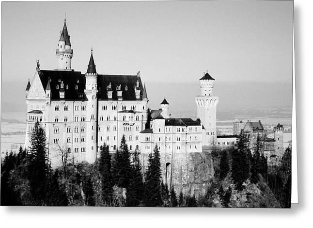 Chateau Greeting Cards - Schloss Neuschwanstein Greeting Card by Juergen Weiss