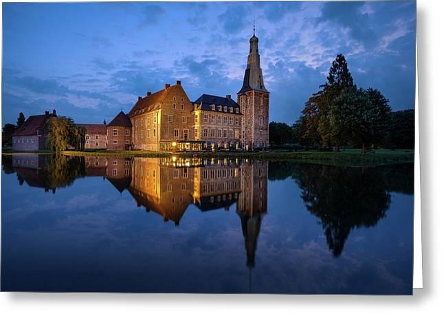 Schloss Raesfeld Greeting Card