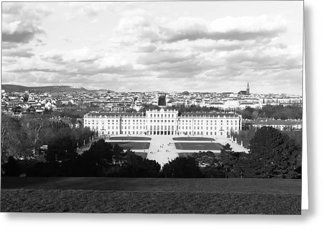 Schloss Schoenbrunn #1 - Vienna Greeting Card by Christian Slanec