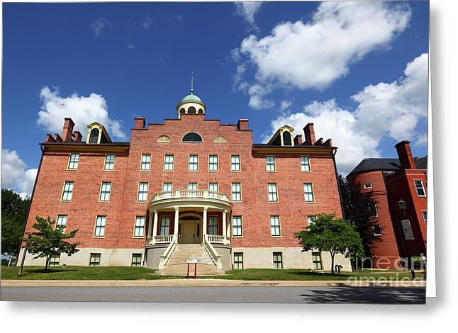 Schmucker Hall Gettysburg Theological Seminary Greeting Card by James Brunker