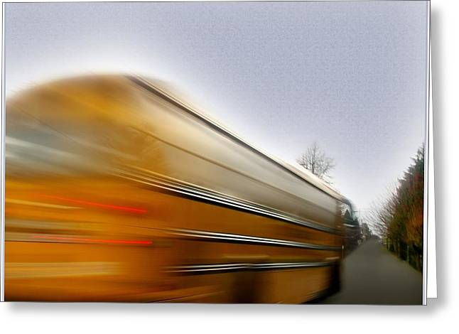 School Bus Greeting Card