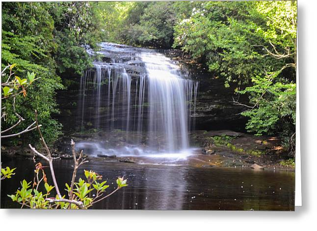 School House Falls Greeting Card