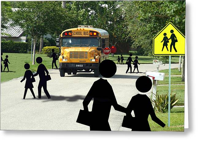 School Is Out Greeting Card