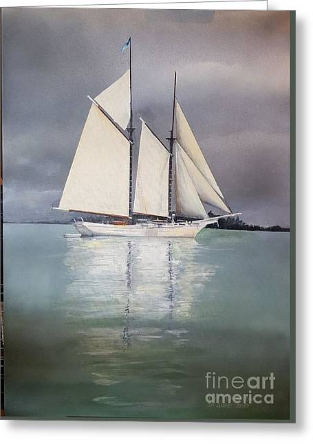 Greeting Card featuring the painting Hope by Tim Johnson
