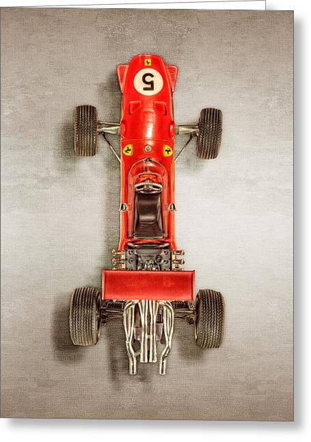 Schuco Ferrari Formel 2 Top Greeting Card