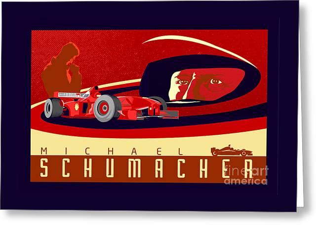 Schumacher  Greeting Card