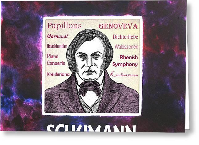 Schumann Greeting Card by Paul Helm