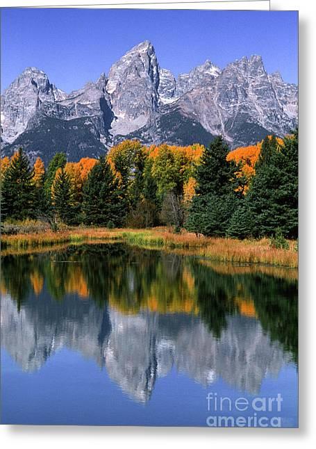 Schwabacher Landing -grand Teton Greeting Card