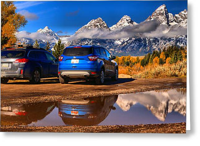 Schwabacher Scenic Parking Greeting Card