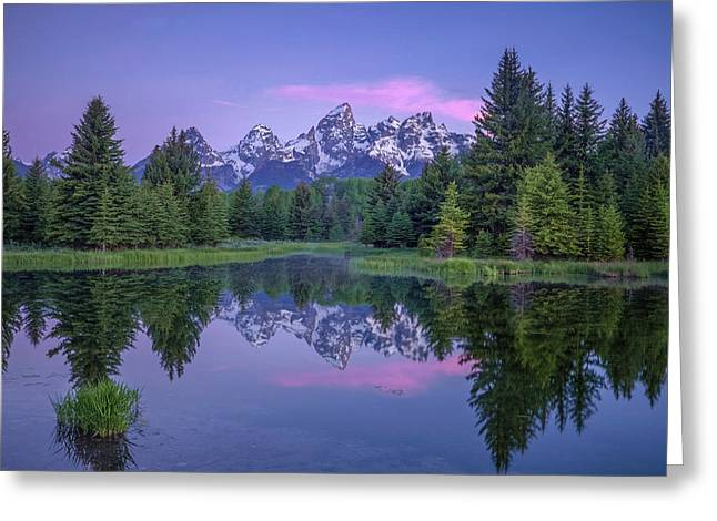 Schwabachers Landing Greeting Card by Andrew Soundarajan