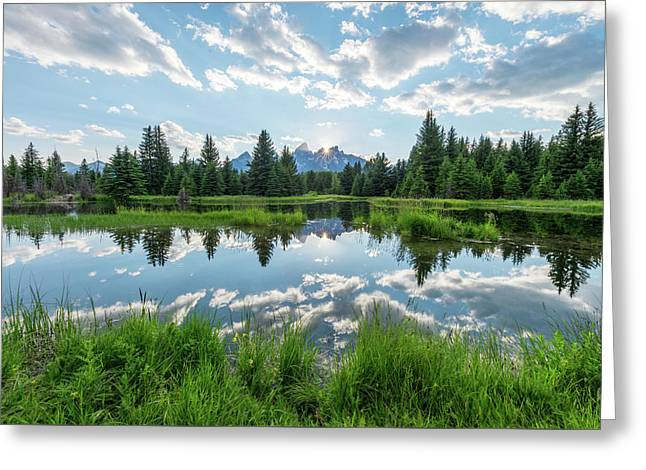 Greeting Card featuring the photograph Schwabacher's Landing by Dustin LeFevre
