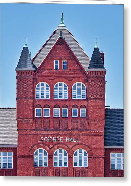 Science Hall - Uw Madison - Wisconsin Greeting Card by Steven Ralser