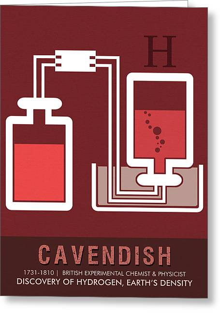 Science Posters - Henry Cavendish - Chemist, Physicist Greeting Card