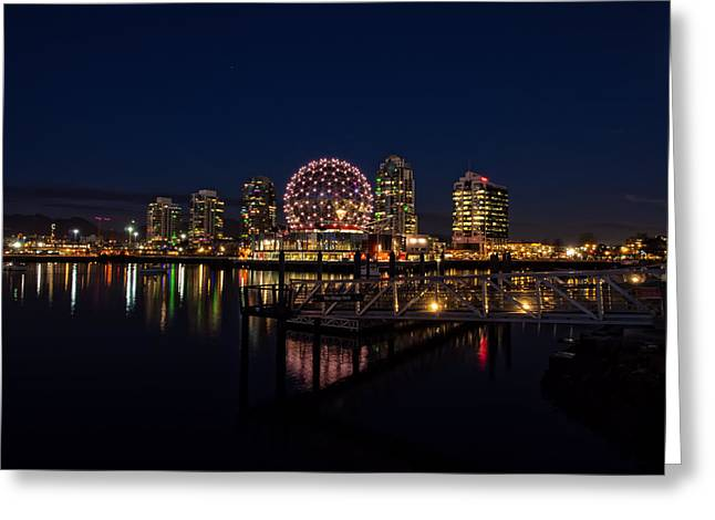 Science World Nocturnal Greeting Card