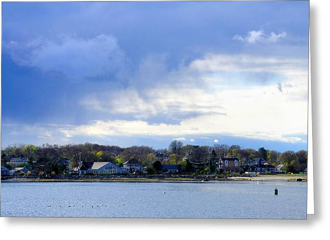 Scituate, Ma Greeting Card by Soon Ming Tsang