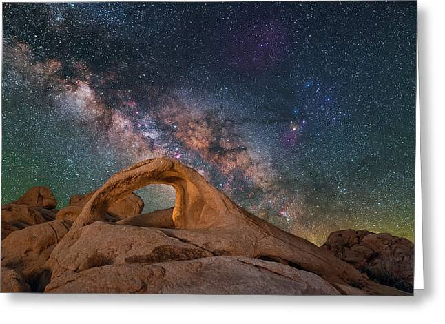 Scorpius And Its Arch Greeting Card
