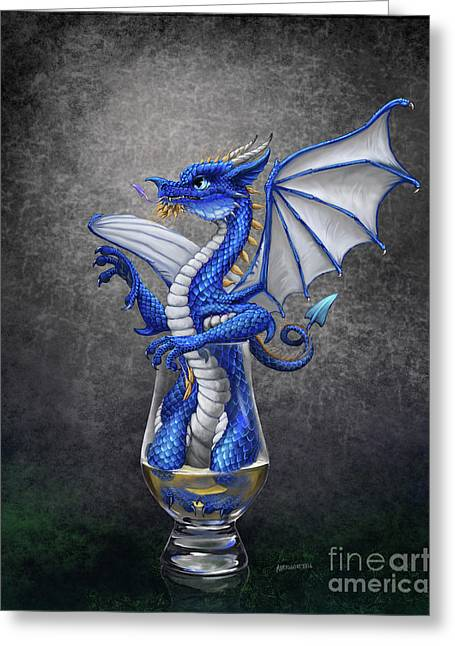 Scotch Dragon Greeting Card