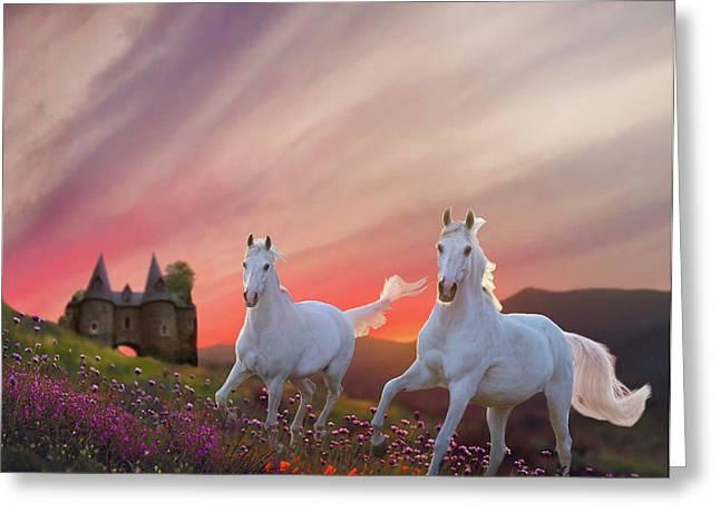 Scotland Fantasy Greeting Card