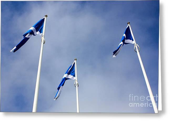 Scotland Greeting Card by Nichola Denny