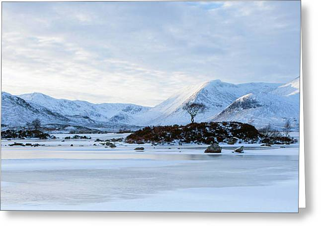 Scotland Winter - Rannoch Moor Greeting Card