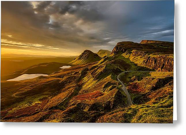 Scotland's Scenic Beauty Greeting Card by Paul Morris
