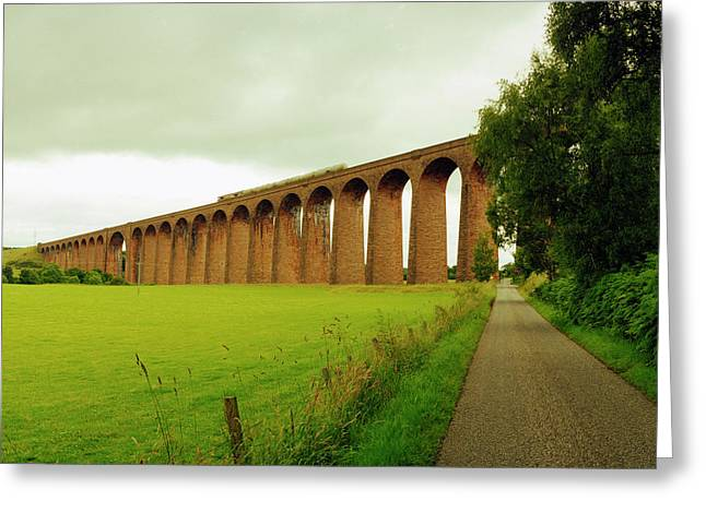 Scotrail To The Highlands Greeting Card by Jan W Faul