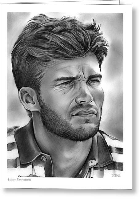 Scott Eastwood Greeting Card