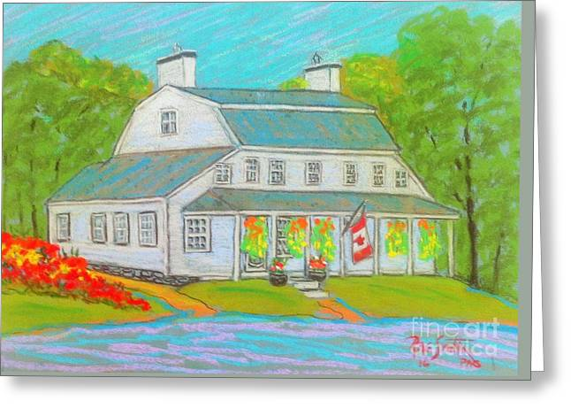 Scott Manor House  Greeting Card
