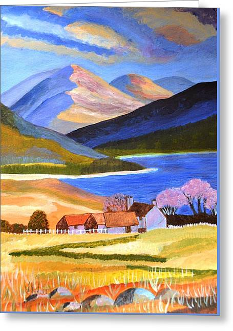 Scottish Highlands 2 Greeting Card