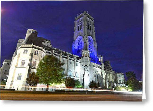 Scottish Rite Cathedral Downtown Greeting Card