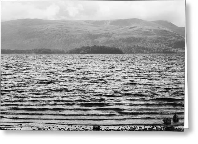 Scottish Shores Greeting Card by Christi Kraft