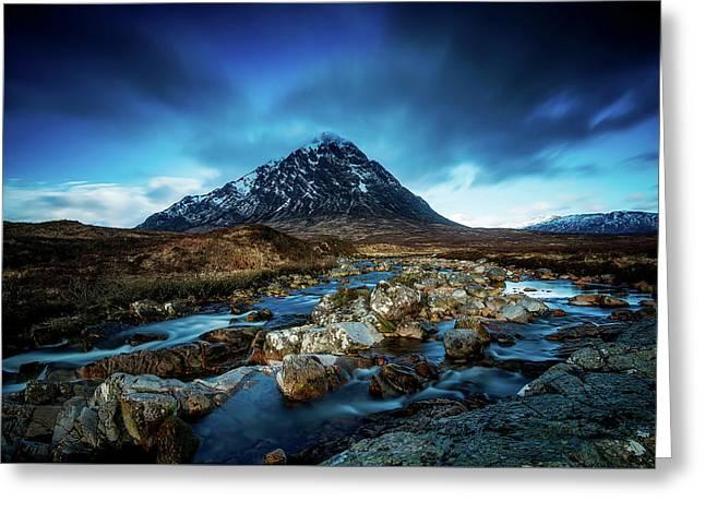 Scottish Solitude Greeting Card by Paul Morris