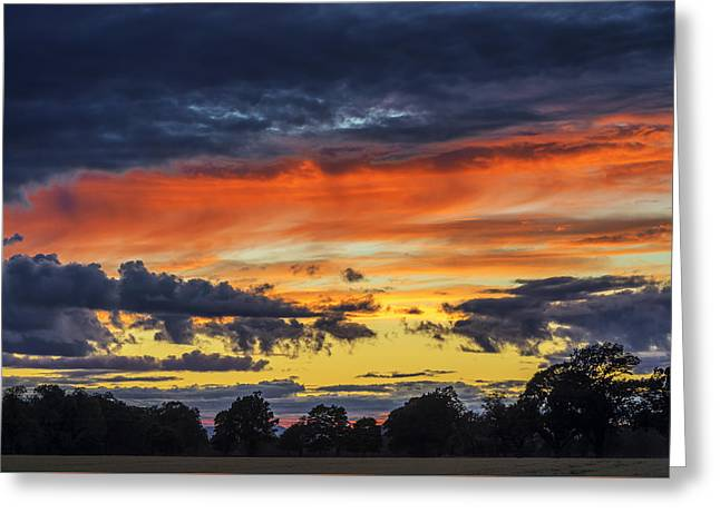 Greeting Card featuring the photograph Scottish Sunset by Jeremy Lavender Photography