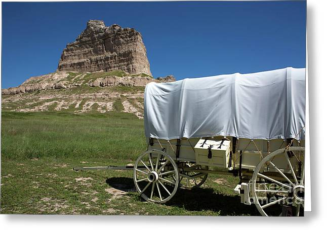 Scotts Bluff National Monument Nebraska Greeting Card