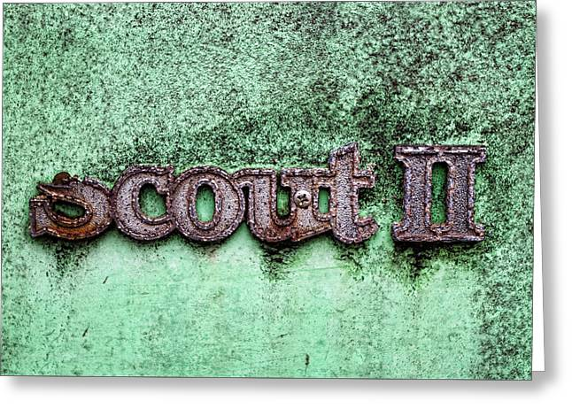 Scout II Greeting Card